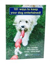 101 Ways To Keep Your Dog Entertained Booklet