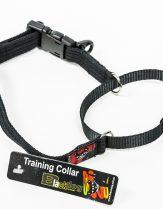Black Dog Training Collar, Black - Med 32-41cm