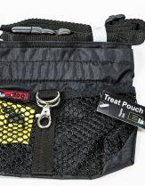 Black Dog Treat Pouch, Regular - Black