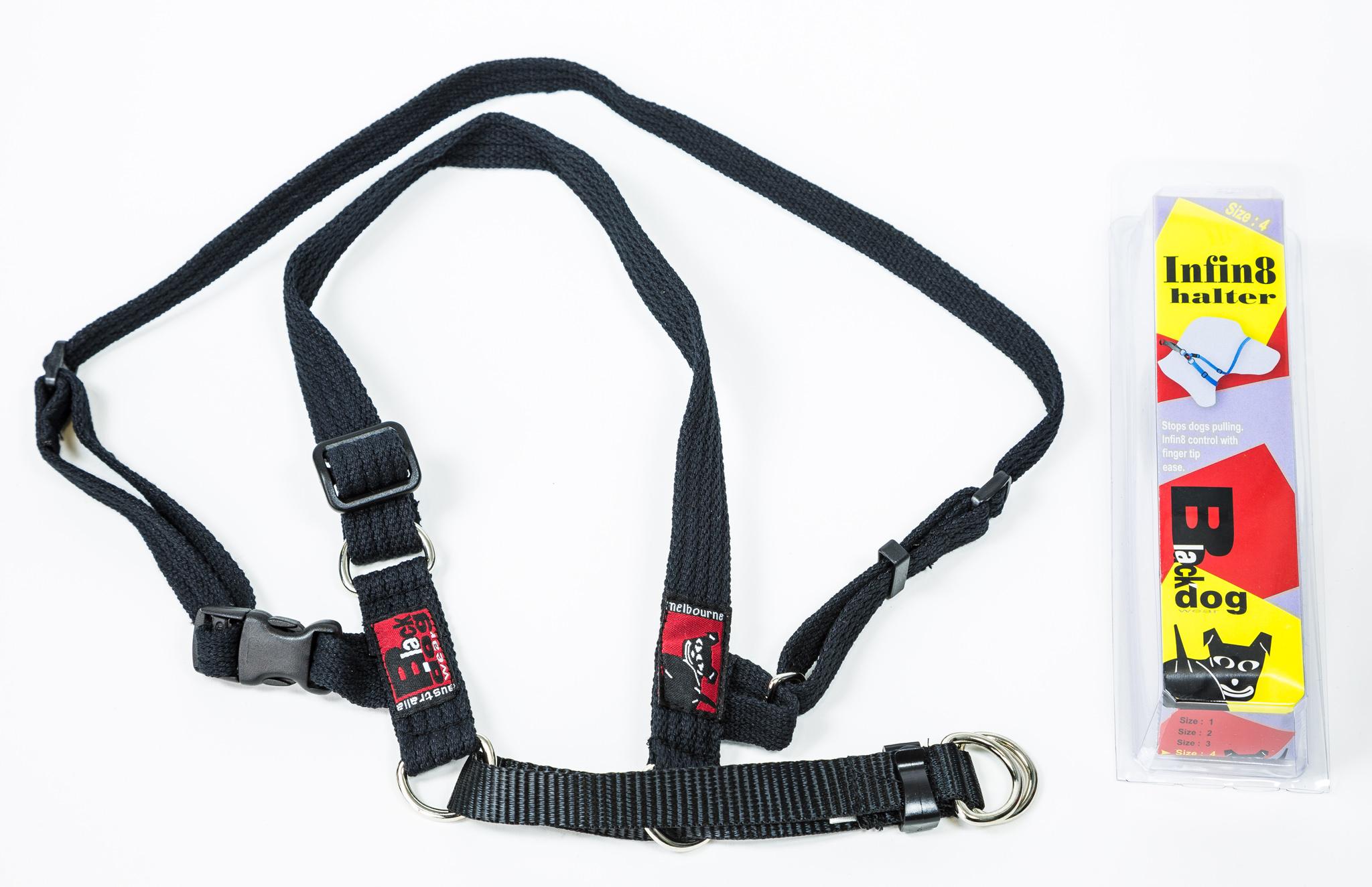 Black Dog Training Halter