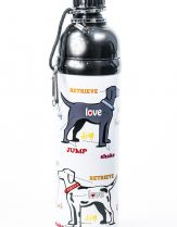 Pet Water Bottle 'Love' 750ml by Good Life Gear