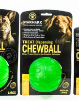 Starmark Treat Dispensing Chewball, Full range